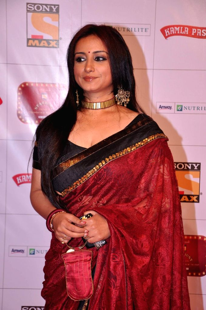 Actress Divya Dutta at the red carpet of Stardust Awards at Jan 26 in Mumbai. - Divya Dutta