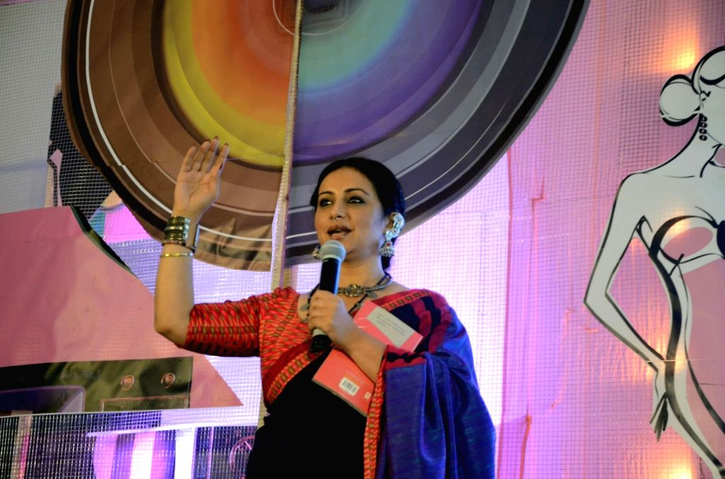 "Actress Divya Dutta during  'The Edutainment Show"" conclave in Mumbai, onMay 19, 2017. - Divya Dutta"