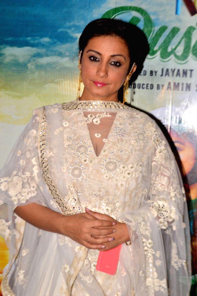 Actress Divya Dutta during the Screening of film Chalk N Duster in Mumbai. - Divya Dutta