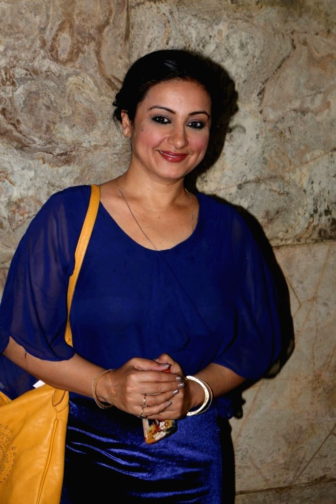 Actress Divya Dutta during the special screening of short film Chutney in Mumbai, on Nov 28, 2016. - Divya Dutta