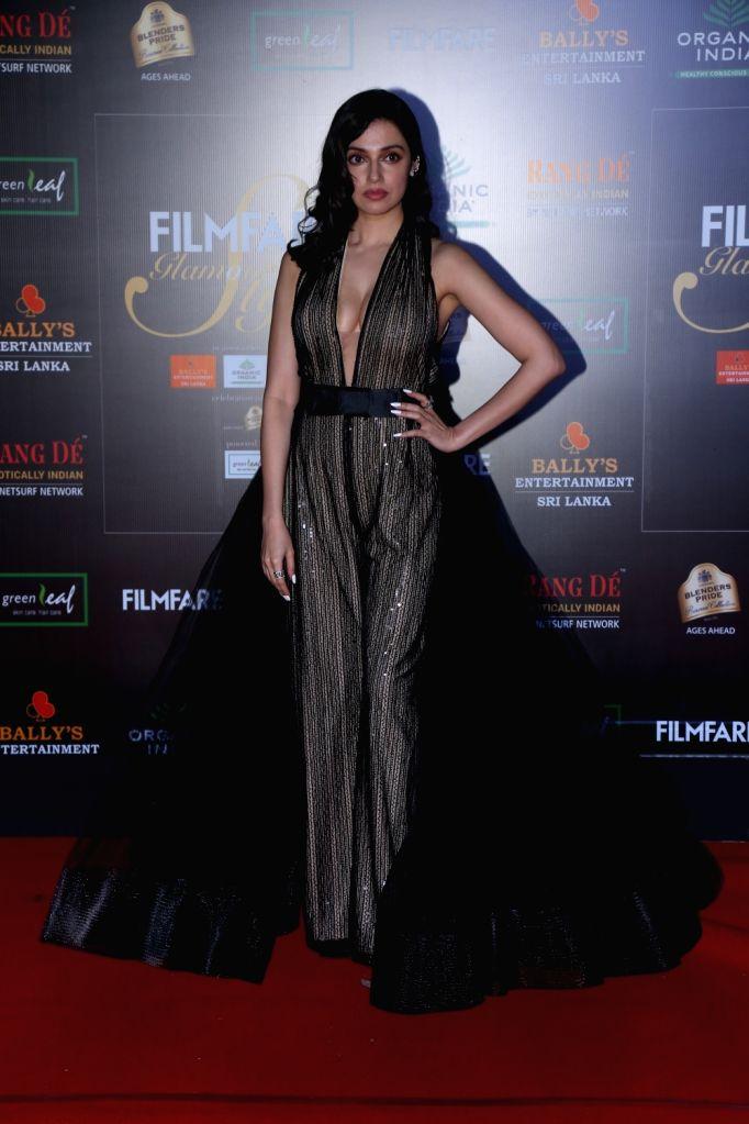 Actress Divya Khosla Kumar on the red carpet of Filmfare Glamour And Style Awards 2019 in Mumbai on Dec 3, 2019. - Divya Khosla Kumar