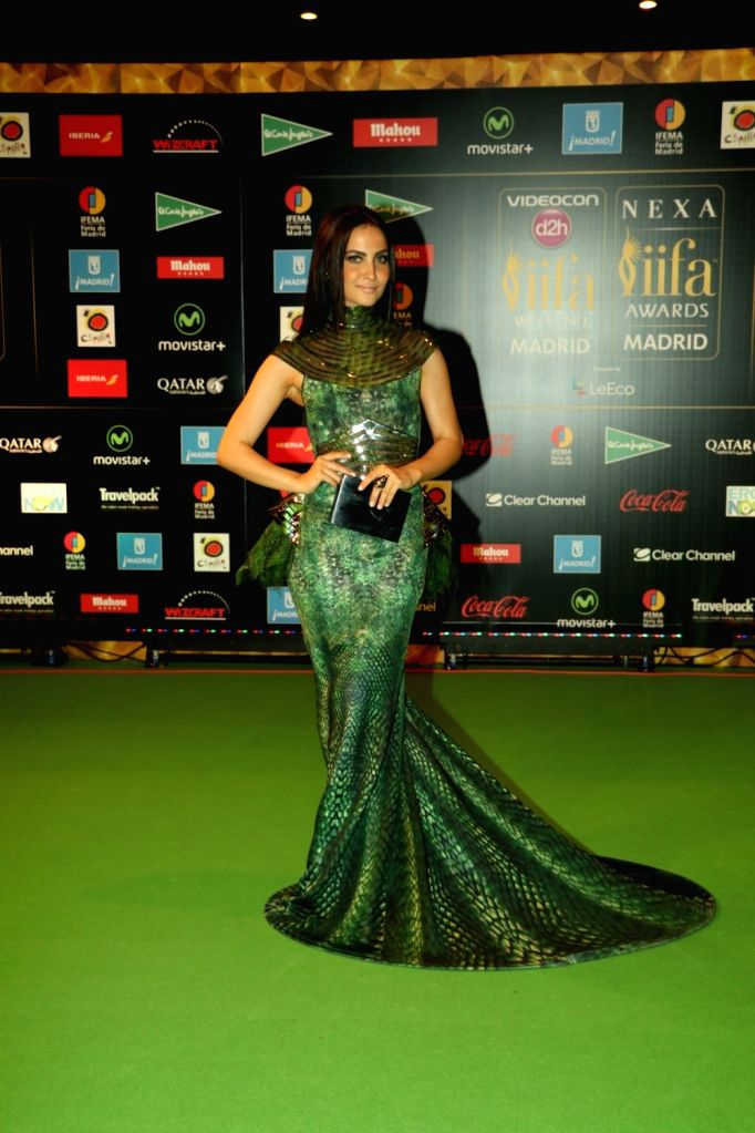 Actress Elli Avram during IIFA Awards in Madrid on June 26, 2016. - Elli Avram