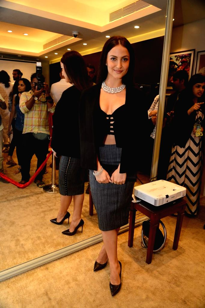 Actress Elli Avram during the launch of Jewels new collection Rise Anew in Mumbai, on Aug 12, 2015. - Elli Avram