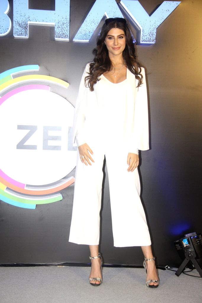 "Actress Elnaaz Norouzi at the launch of her upcoming web series ""Abhay"" in Mumbai, on Feb 4, 2019. - Elnaaz Norouzi"