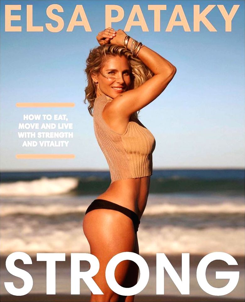 """Actress Elsa Pataky is sharing the secret to her incredible physique in a new book. The actress and wife of """"Thor"""" star Chris Hemsworth will unlock the key to her healthy lifestyle in the publication, titled """"Strong"""". - Elsa Pataky"""
