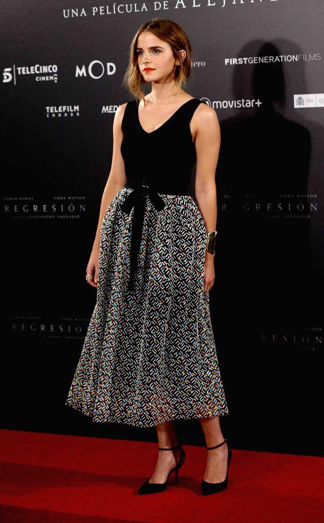 Actress Emma Watson. - Emma Watson