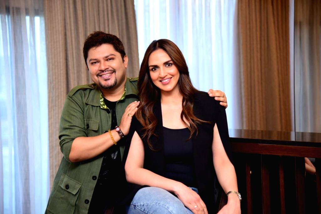 Actress Esha Deol Takhtani and Director Ram Kamal. - Esha Deol Takhtani