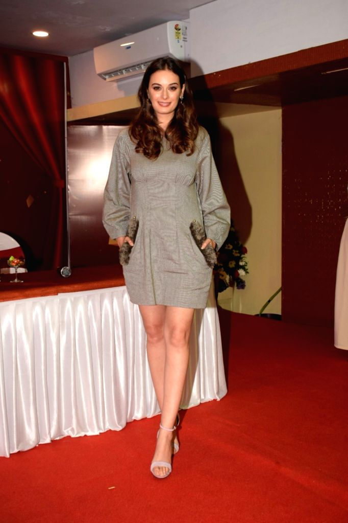 Actress Evelyn Sharma during a programme in Mumbai on July 27, 2018. - Evelyn Sharma
