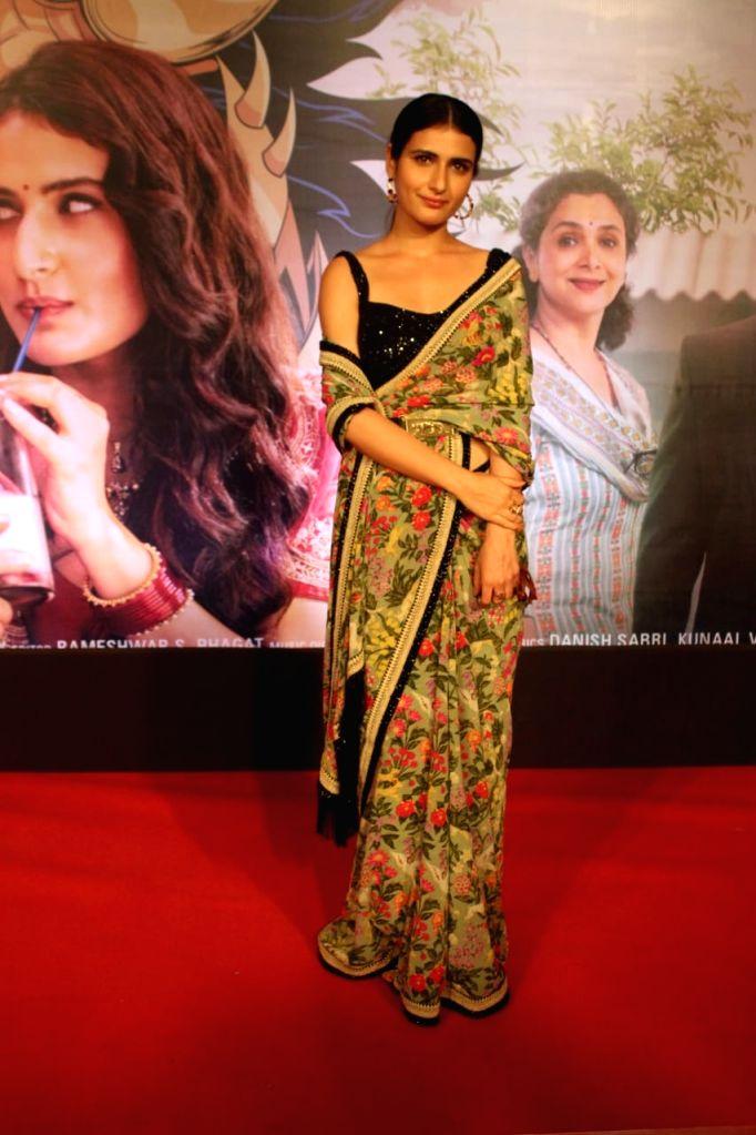"Actress Fatima Sana Shaikh at the special screening of her upcoming film ""Suraj Pe Mangal Bhari"" at Andheri in Mumbai on Nov 12, 2020. - Fatima Sana Shaikh"