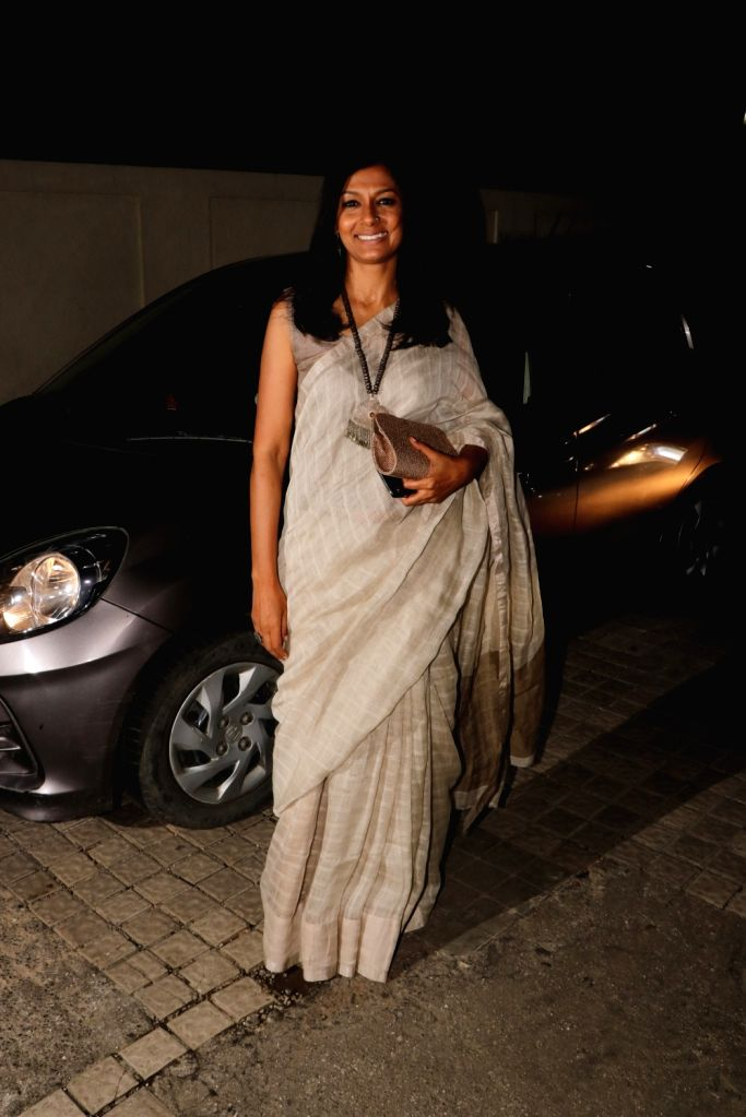 "Actress-filmmaker Nandita Das at the screening of upcoming film ""Manto"" in Mumbai on Sept 17, 2018. - Nandita Das"