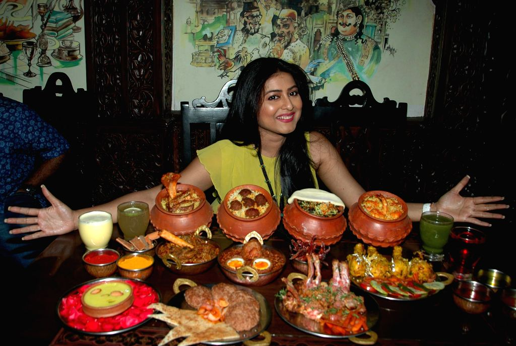 Actress Gargi Roy Chowdhury at the launch of a restaurant in Kolkata, on Aug 17, 2015.