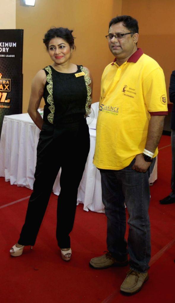 Actress Gargi Roy Chowdhury during  Darts Premier League players' auction in Kolkata, on May 12, 2016. - Gargi Roy Chowdhury