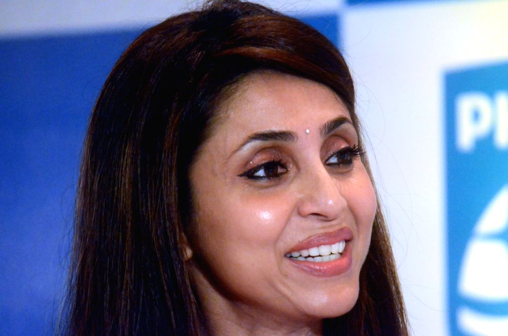 Actress Gautami Kapoor during a Philips press conference in Mumbai, on May 3, 2017. - Gautami Kapoor