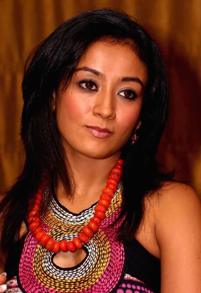 "Actress Gayatri Patel at a press meet for the film ""Let's Dance"" in New Delhi on Tuesday 16 June 2009."