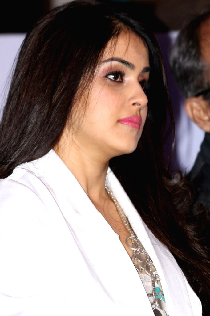 Actress Genelia D'Souza during the launch of Dove baby care products Baby Dove, in Mumbai, on Oct 4, 2016. - Genelia D'Souza