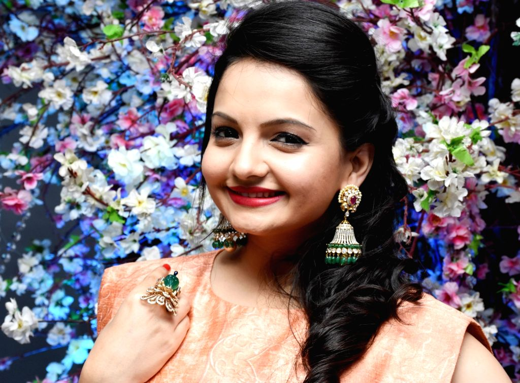"""Actress Giaa Manek during """"Ramp for Champs"""" - a programme organised to support girl child empowerment through education in Mumbai. - Giaa Manek"""