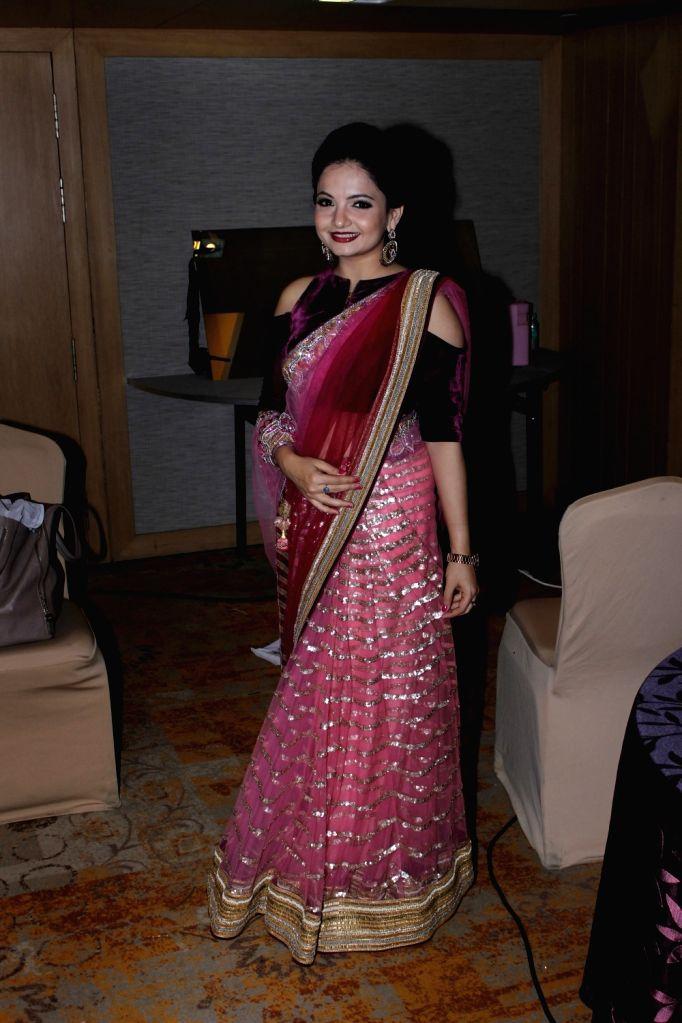 Actress Giaa Manek poses for a photograph during a programme in Mumbai on July 1, 2017. - Giaa Manek