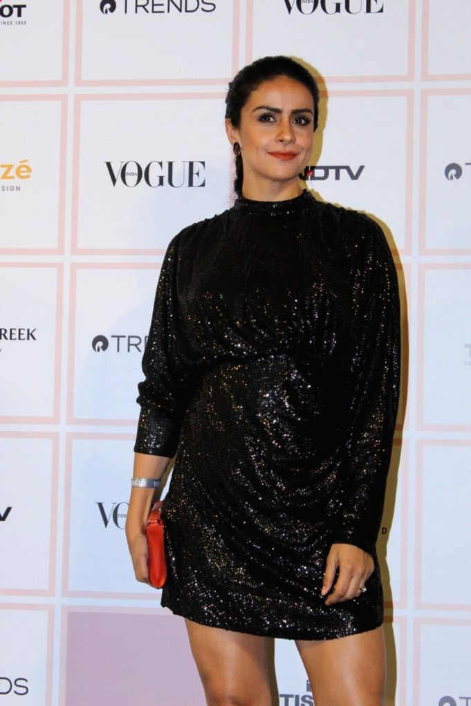 Actress Gul Panag at 10th Vogue Beauty Awards in Mumbai on Sep 26, 2019. - Gul Panag