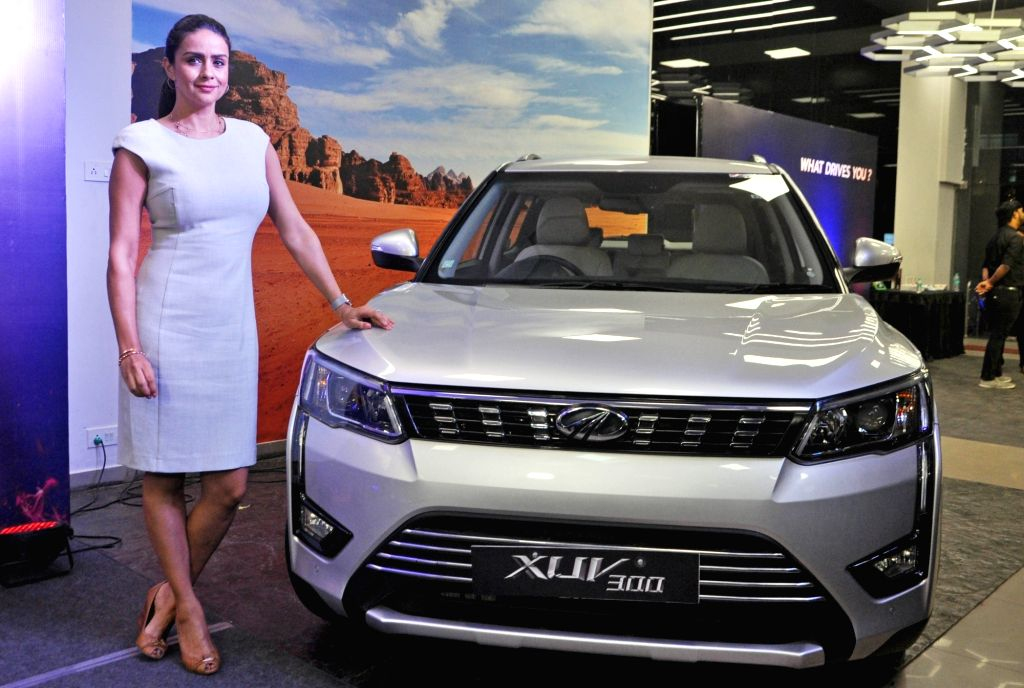 Actress Gul Panag at the launch of Mahindra & Mahindra Ltd's new #HerDrive campaign for its compact SUV model XUV300, in Kolkata on Nov 15, 2019. - Gul Panag