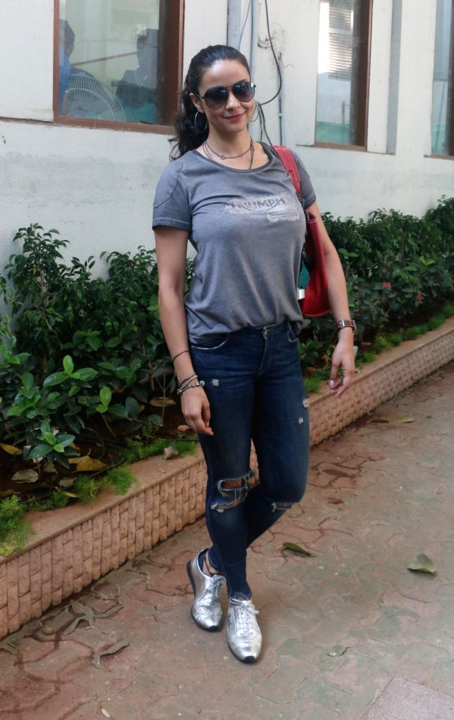 Actress Gul Panag during a programme organised by Rolling Nicks Sports Foundation in Mumbai, on March 28, 2018. - Gul Panag