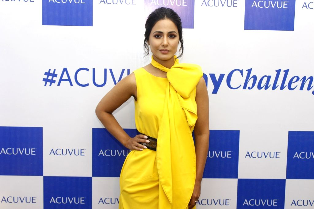 Actress Hina Khan. - Hina Khan