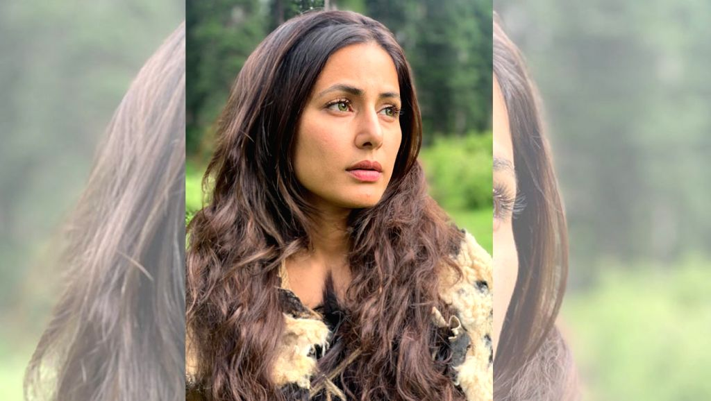 "Actress Hina Khan, who made her debut at the Cannes Film Festival this year, has taken her next step in the international market by signing an Indo-Hollywood film, which is based on H.G. Wells' novel ""The Country of the Blind"". - Hina Khan"