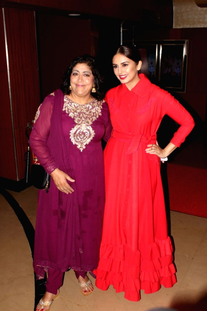 "Actress Huma Qureshi and British filmmaker Gurinder Chadha during a programme organised to launch the trailer of upcoming film ""Partition: 1947"" in Mumbai, on June 29, 2017. - Huma Qureshi"