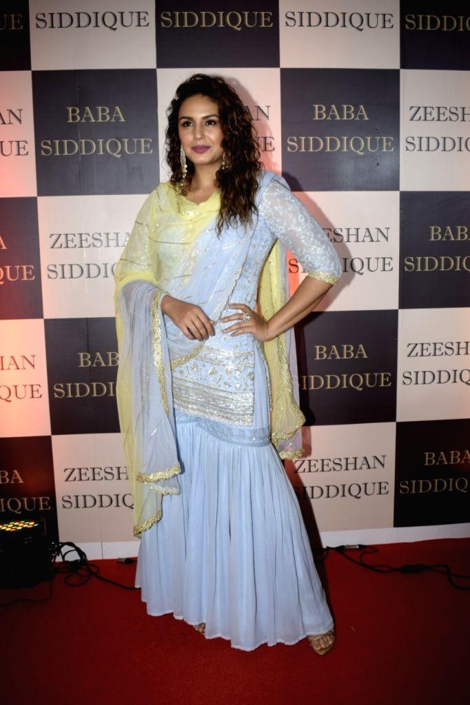 Actress Huma Qureshi at politician Baba Siddique's iftar party in Mumbai on June 10, 2018. - Huma Qureshi
