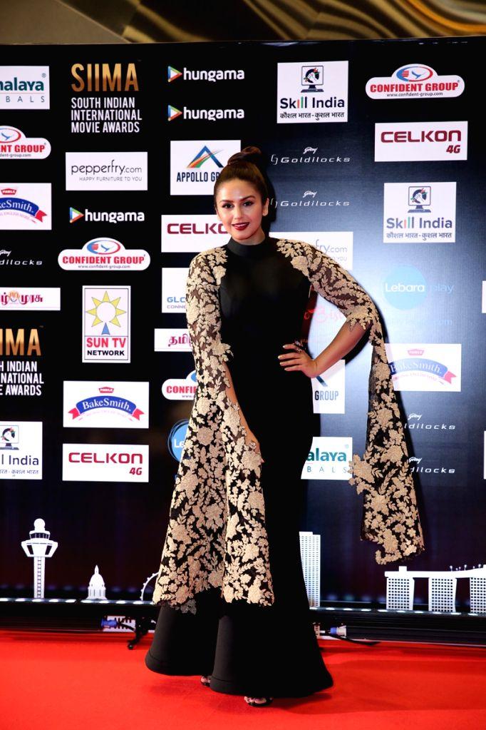 Actress Huma Qureshi at SIIMA Awards 2016. - Huma Qureshi