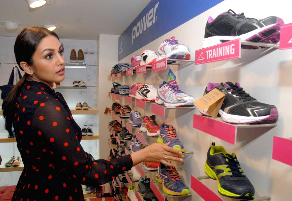 Actress Huma Qureshi at the launch of 1101st store of Bata in Bengaluru on June 2, 2016. - Huma Qureshi