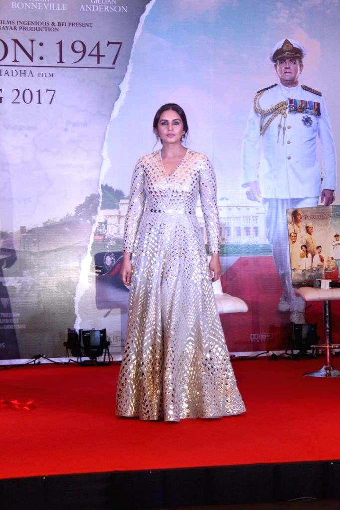 "Actress Huma Qureshi at the music launch of forthcoming film ""Partition: 1947"" in Mumbai on July 4, 2017. - Huma Qureshi"