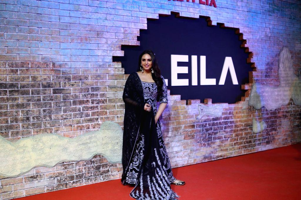 "Actress Huma Qureshi at the screening of her Netflix show ""Leila"", in Mumbai on June 7, 2019. - Huma Qureshi"