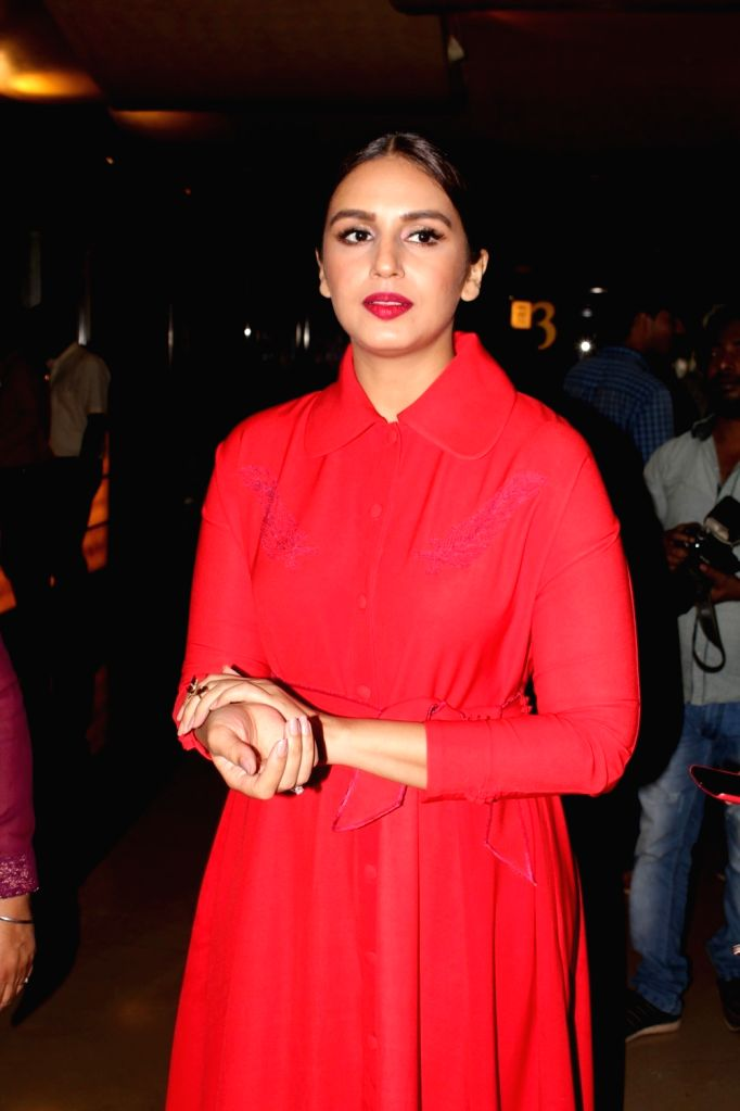 "Actress Huma Qureshi during a programme organised to launch the trailer of upcoming film ""Partition: 1947"" in Mumbai, on June 29, 2017. - Huma Qureshi"