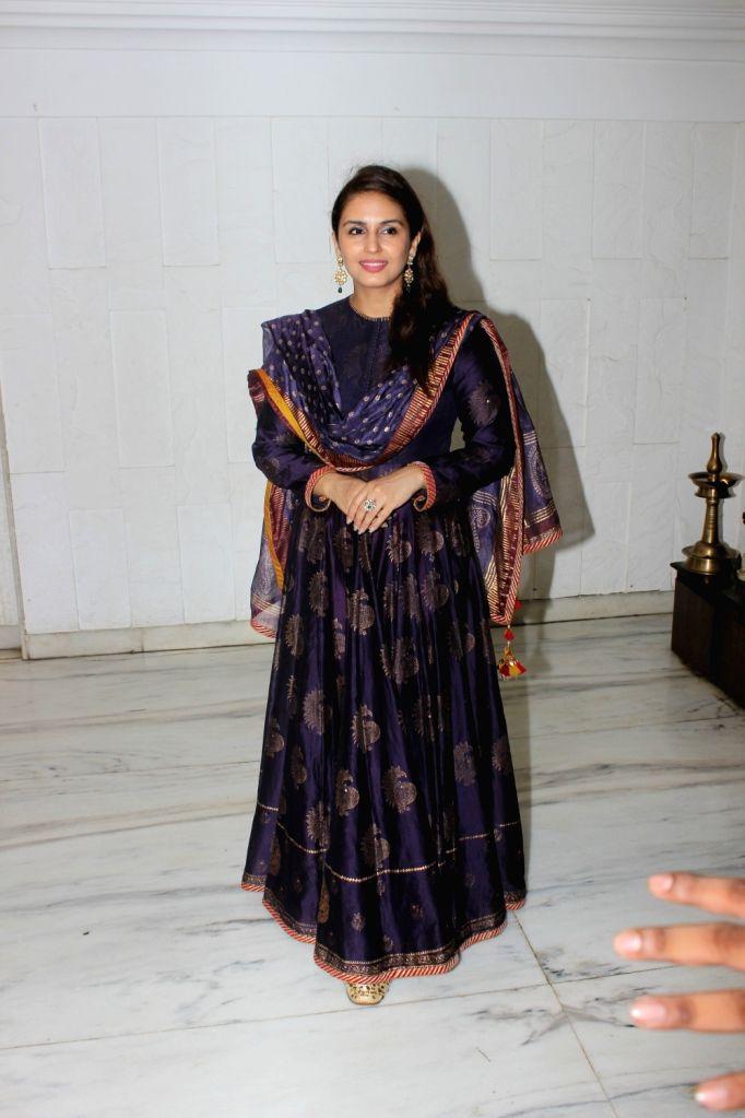 Actress Huma Qureshi during an Eid party in Mumbai on June 28, 2017. - Huma Qureshi