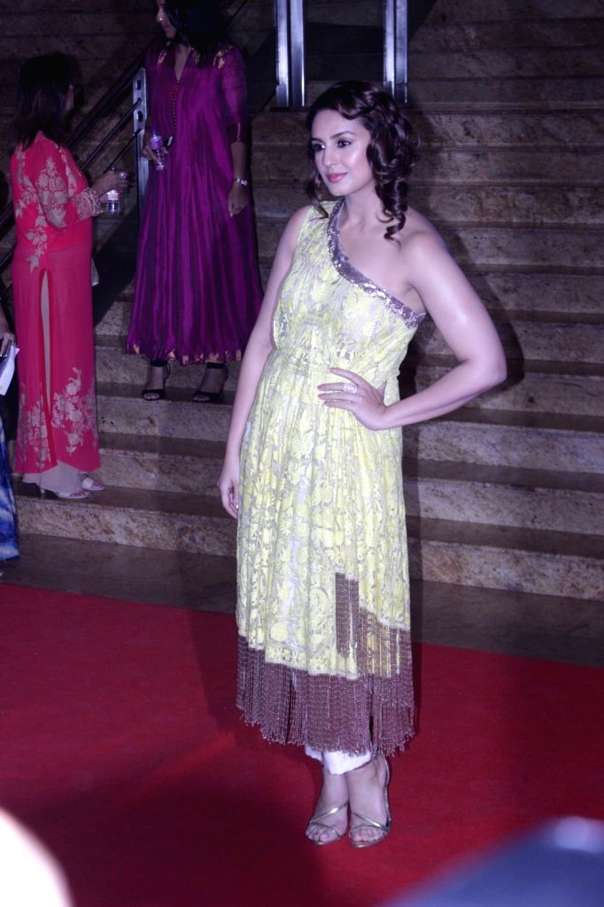 Actress Huma Qureshi during the Mijwan Summer 2017 fashion show during the Mijwan Summer 2017 fashion show in Mumbai on March 5, 2017. - Huma Qureshi