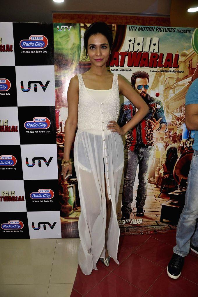 Actress Humaima Malik during the launch of song Kal They Mile from their film Raja Natwarlal in Mumbai on July 30, 2014. - Humaima Malik