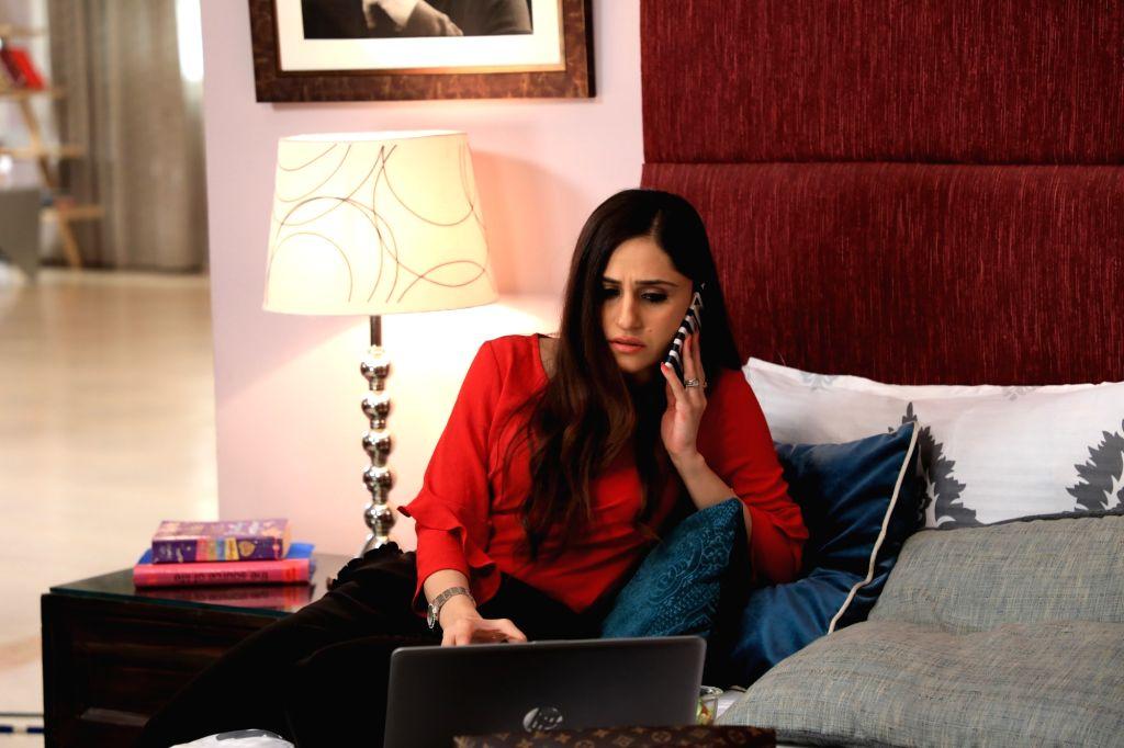 :Actress Hunar Gandhi..