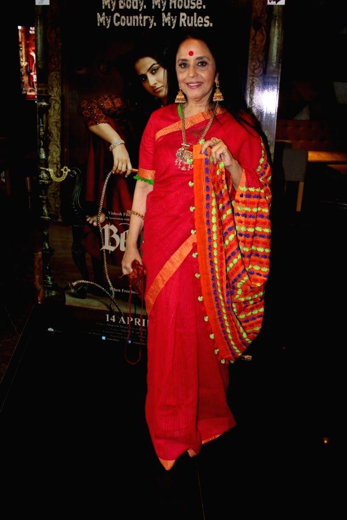 "Actress Ila Arun during the trailer launch of film ""Begum Jaan"" in Mumbai on March 14, 2017. - Ila Arun"