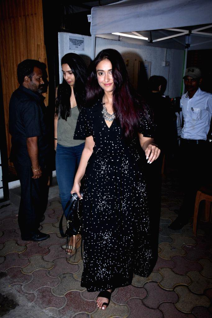 Actress Ileana D'Cruz seen at Bandra, in Mumbai on Feb 11, 2020. - Ileana D'Cruz