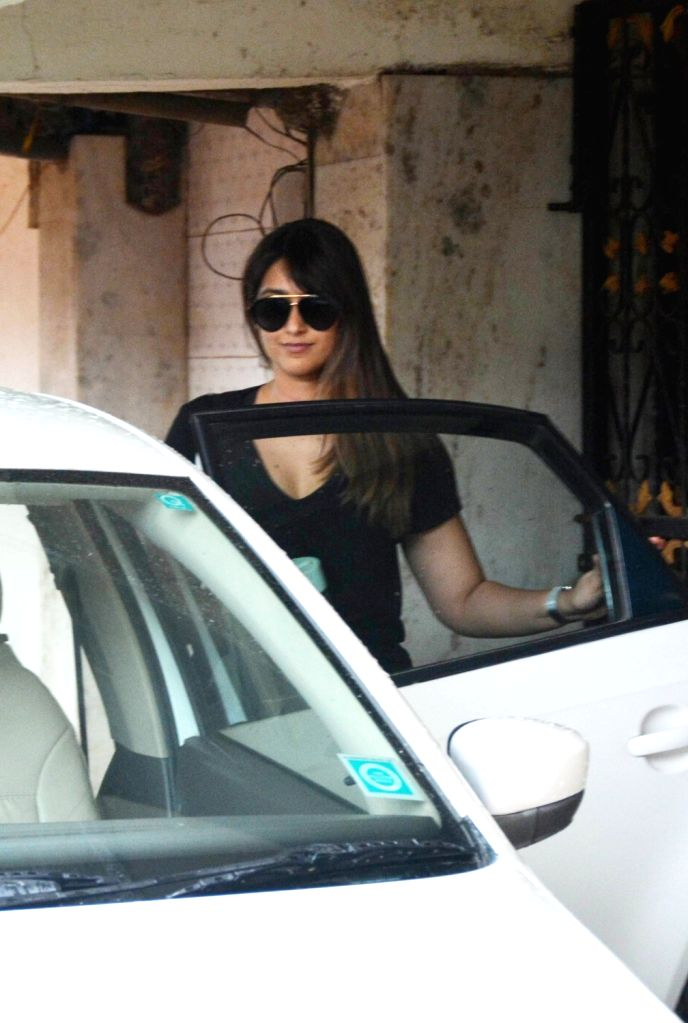 Actress Ileana D'cruz seen outside a gym, in Mumbai, on Aug 4, 2018. - Ileana D