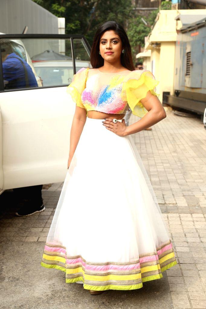 "Actress Iniya at the trailer launch of film ""Mamangam"" in Mumbai  on Dec 4, 2019. - Iniya"
