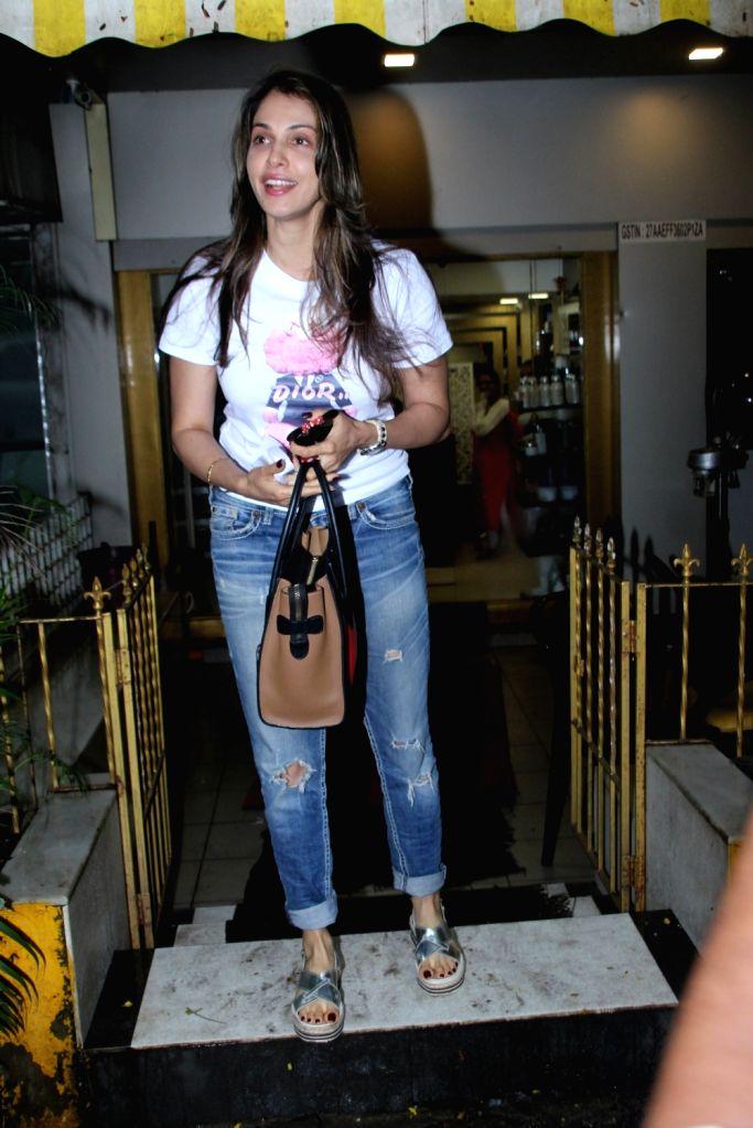 Actress Isha Koppikar seen at a salon in Mumbai on July 25, 2019. - Isha Koppikar