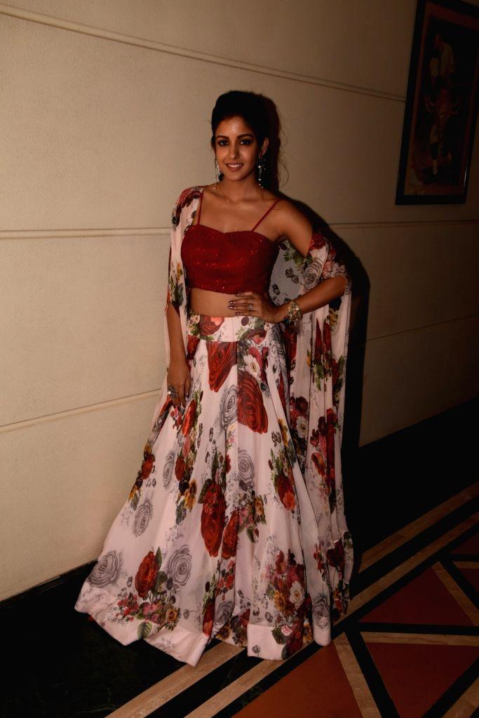 "Actress Ishita Dutta at the trailer launch of her upcoming film ""Setters"" in Mumbai, on April 11, 2019. - Ishita Dutta"