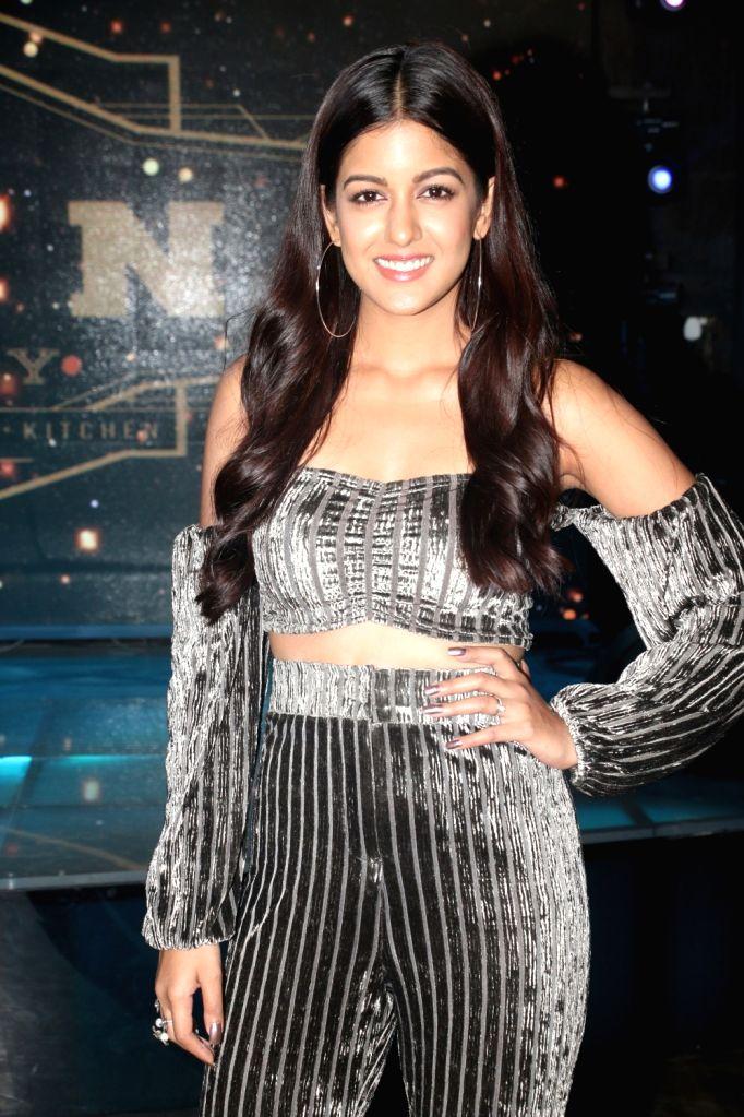"Actress Ishita Dutta at the wrap-up party of her upcoming film ""Blank"" in Mumbai, on April 12, 2019. - Ishita Dutta"