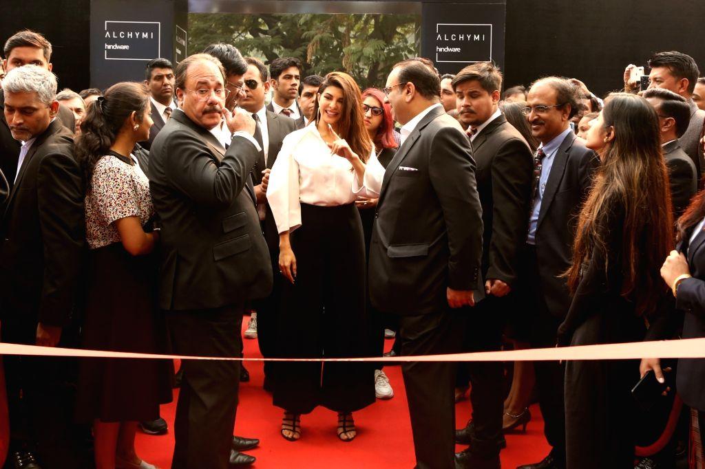 Actress Jacqueline Fernandez at the launch of Lacasa concept store in New Delhi on Dec 7, 2019. - Jacqueline Fernandez