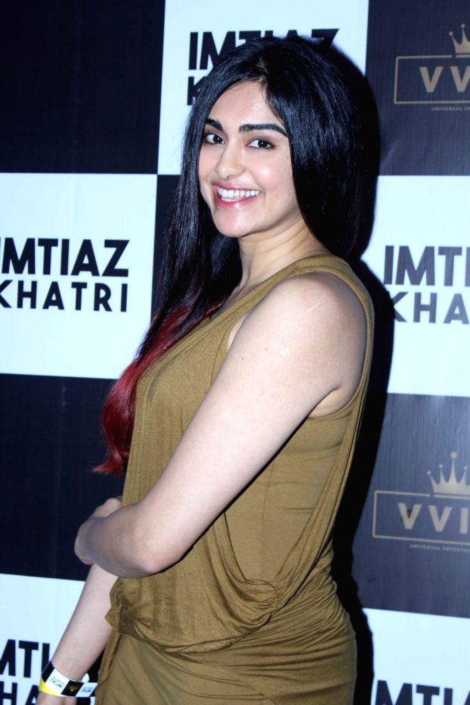 Actress Jahnavi Kapoor at producer Imtiaz Khatri's birthday bash in Mumbai on Sept 9, 2017. - Jahnavi Kapoor