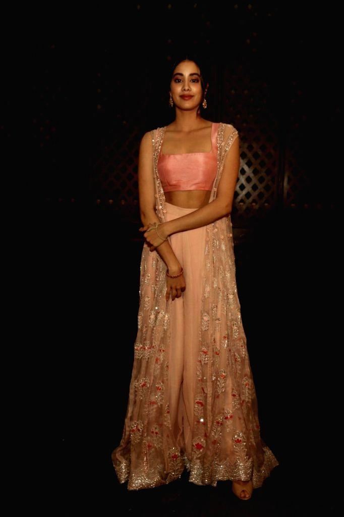"Actress Janhvi Kapoor during a press meet of her upcoming film ""Dhadak"" in New Delhi on July 18, 2018. - Janhvi Kapoor"