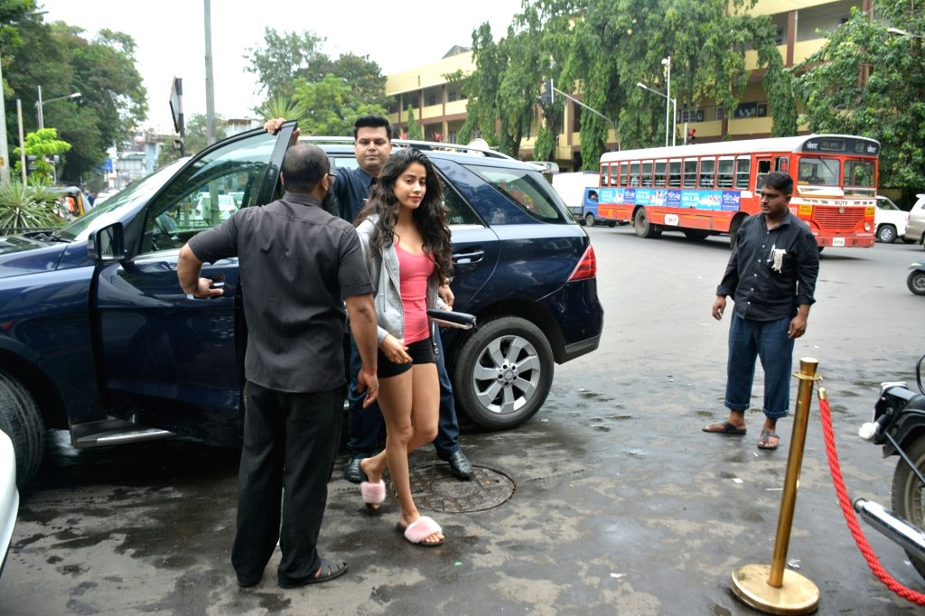 Actress Janhvi Kapoor seen at Mumbai's Bandra,  on July 22, 2018. - Janhvi Kapoor