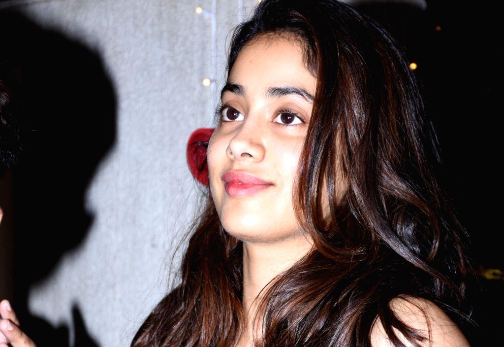 Actress Janhvi Kapoor seen in Mumbai on Oct 31, 2019. - Janhvi Kapoor
