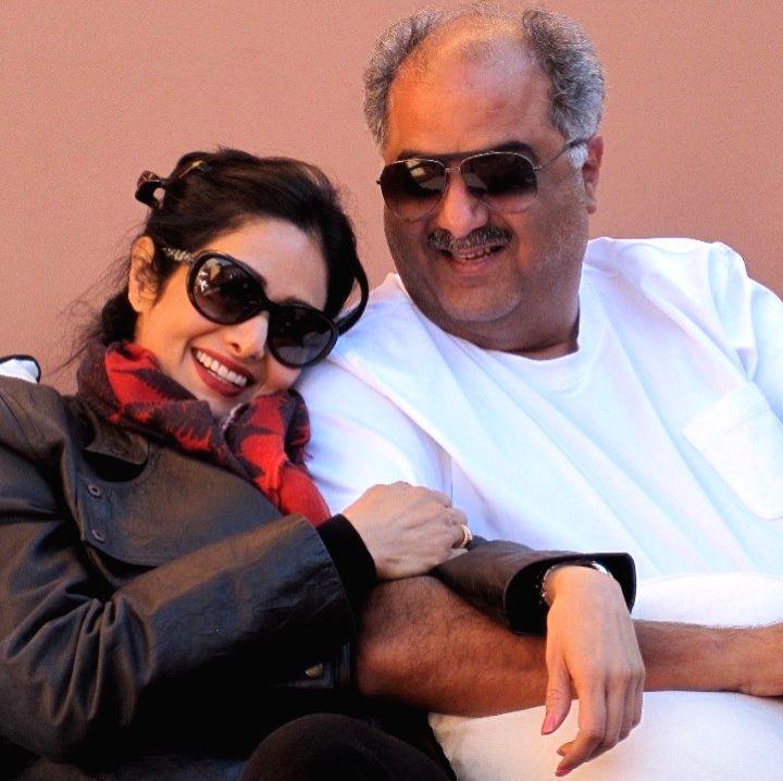 Actress Janhvi Kapoor shared a heart melting throwback photograph of her parentsproducer Boney Kapoor and late actress Sridevi. - Janhvi Kapoor